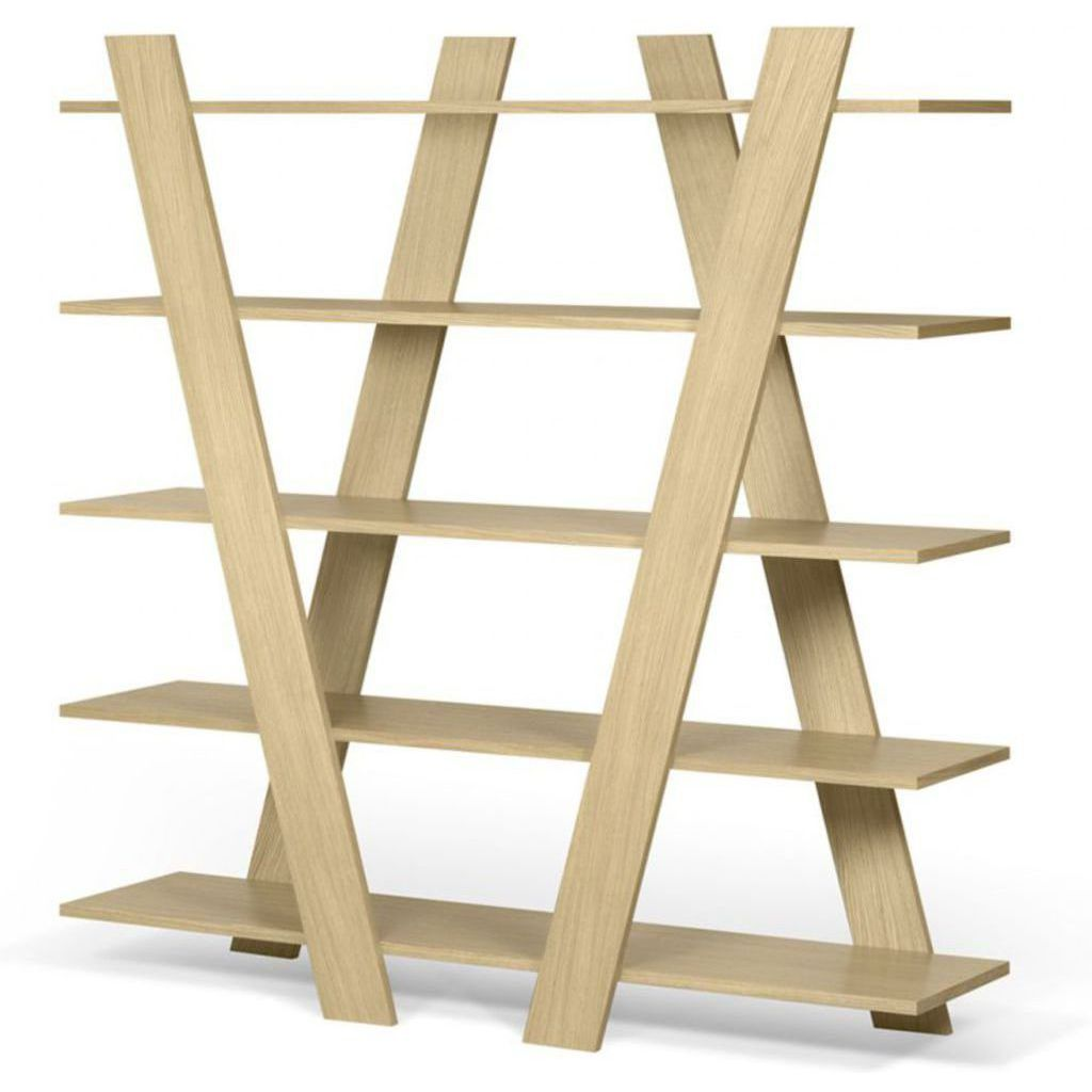 TemaHome Wind Shelving Unit | Oak 9500.321603