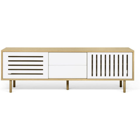 TemaHome Dann Stripes 201 Sideboard | Pure White 9500.402609