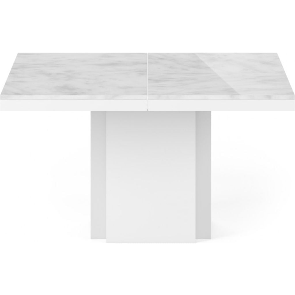 Merveilleux ... TemaHome Dusk 130 Dining Table | White Marble / Pure White 9500.628009  ...