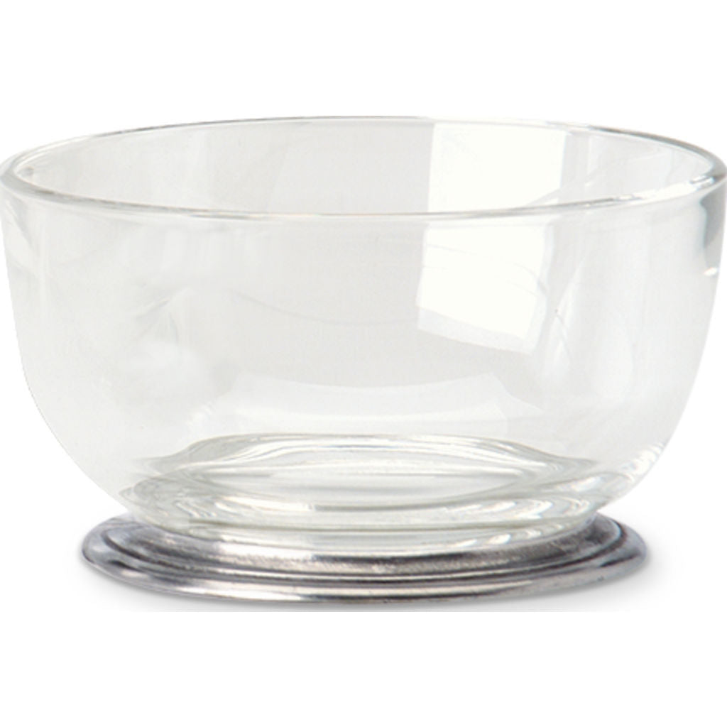 Match Round Crystal Bowl | Small