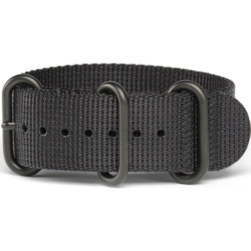 Bertucci DX3  Nylon Watch Band | Black #95B
