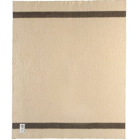 Woolrich Fort Sumter Wool Throw Blanket | Tan A 990019 TAN