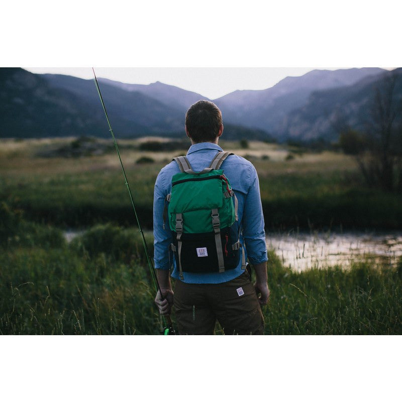 Topo Designs Rover Pack Backpack | Kelly/Navy
