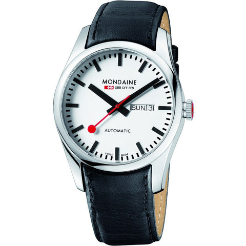 Mondaine Swiss Railways Retro Automatic | Black/White