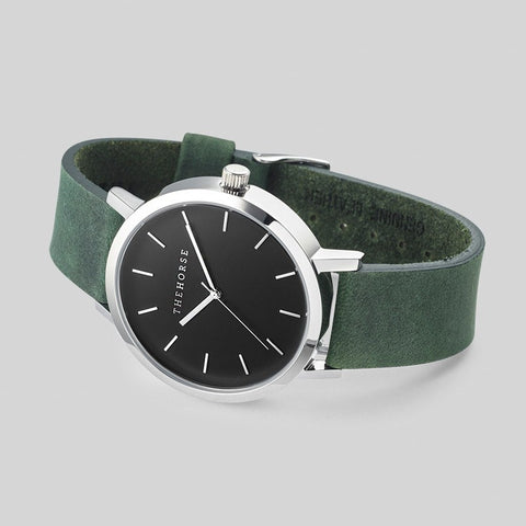 The Horse Original Steel Watch | Mineral Green A13