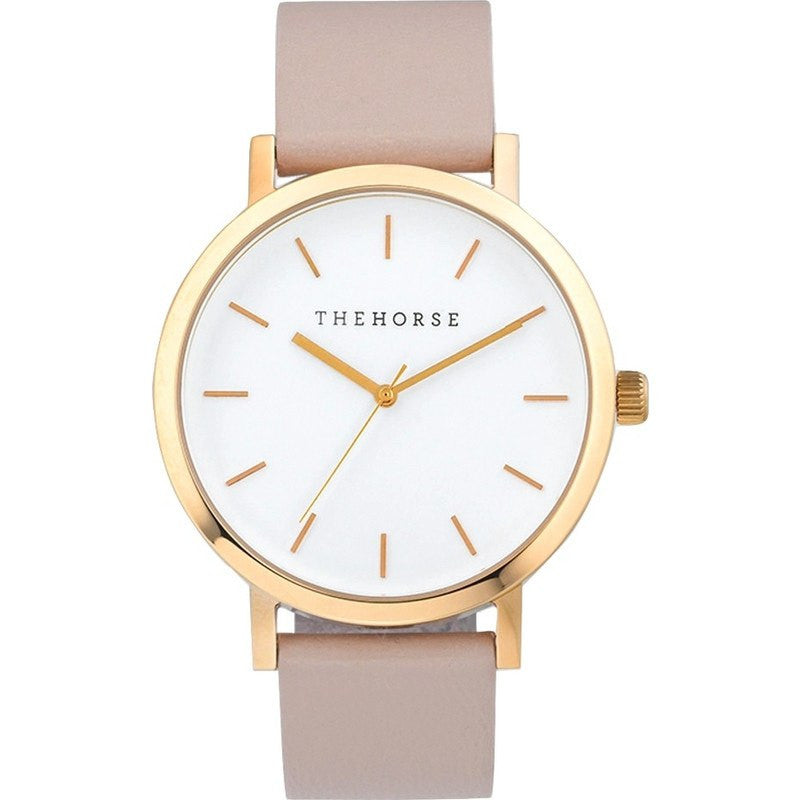 The Horse Original Polished Rose Gold Watch | Blush ST0123-A14