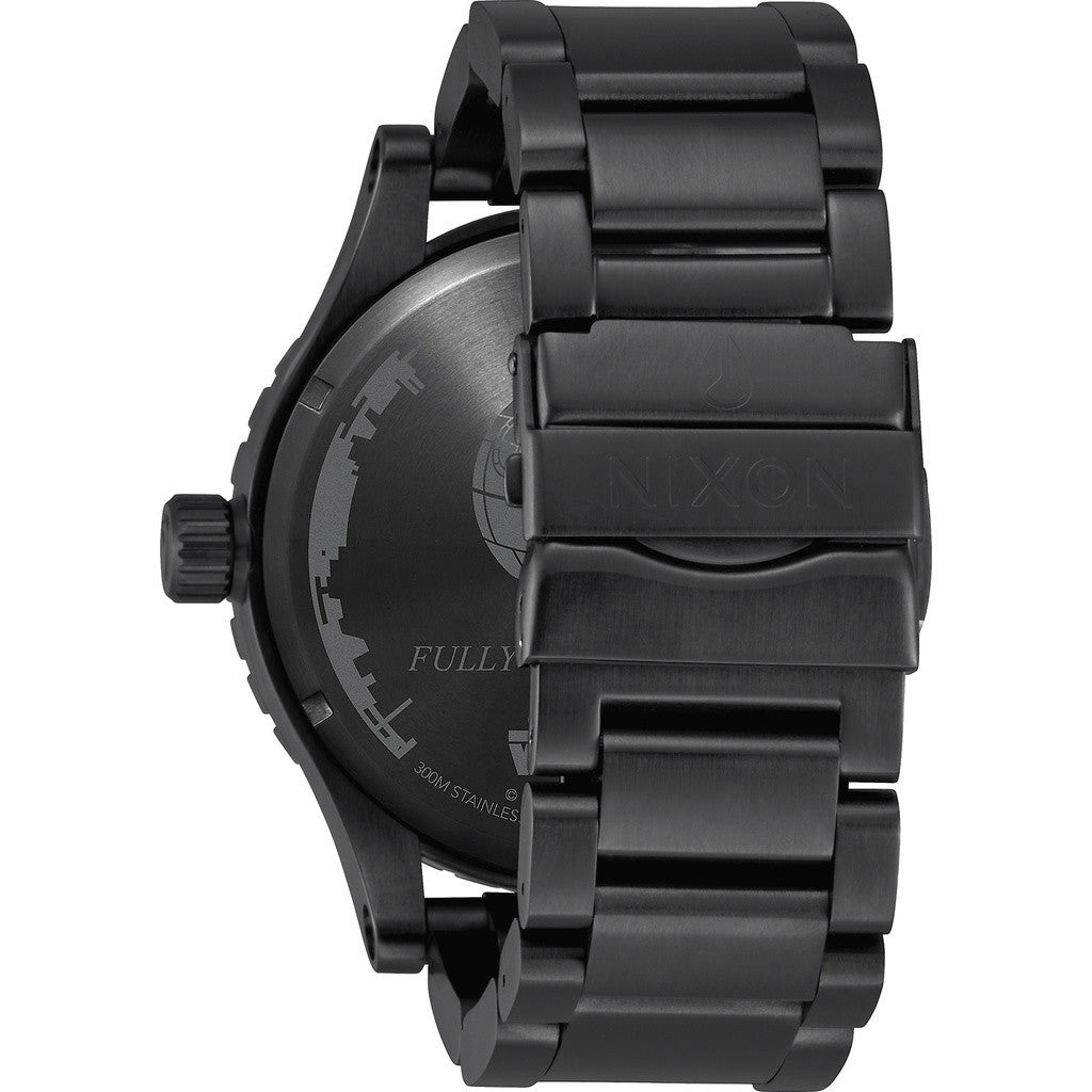 Nixon x Star Wars 51-30 Watch | Death Star Black A172SW 2383-00