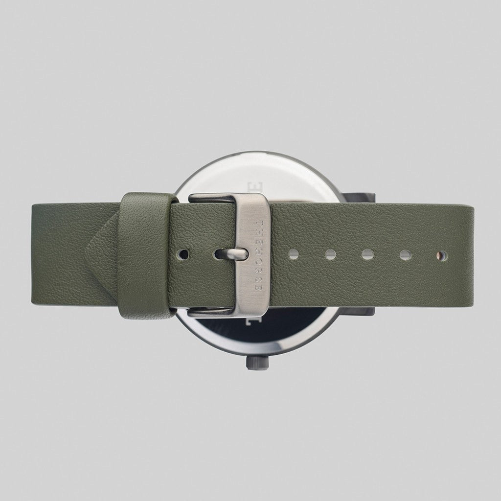The Horse Original Gunmetal Watch | Olive ST0123-A20