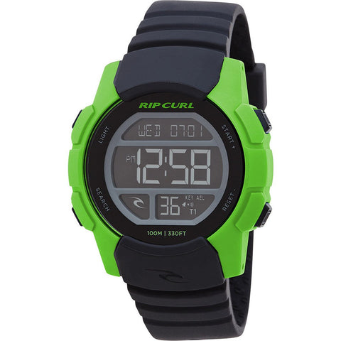 Rip Curl Mission Digital Watch | Green A2869