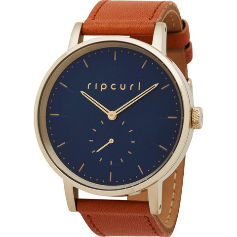 Rip Curl Circa Gold Leather Watch | Gold (GOL) A2886G