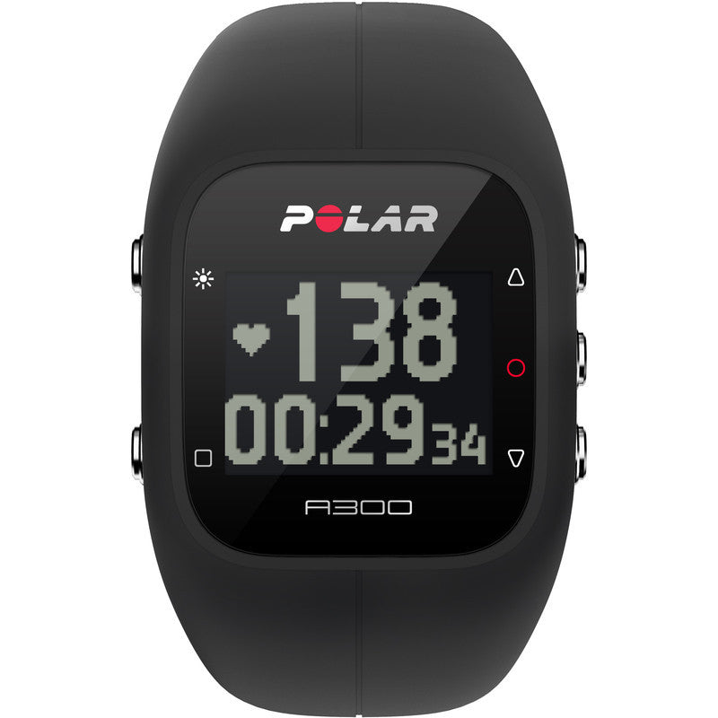 Polar A300 Fitness & Activity Tracker Watch HR | Black