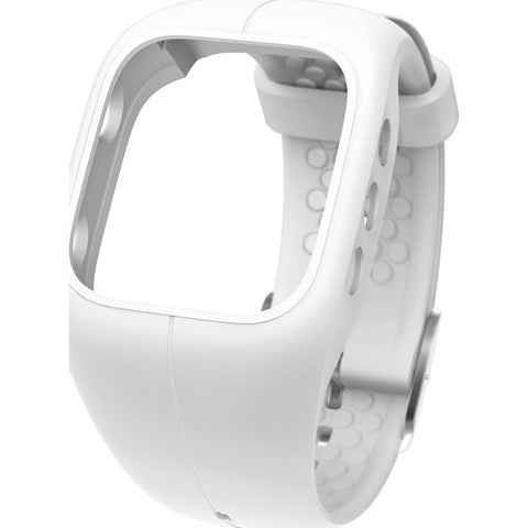 Polar A300 Fitness & Activity Tracker Watch Wrist Strap | White 91054246