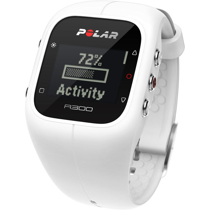 Polar A300 Fitness & Activity Tracker Watch HR | White