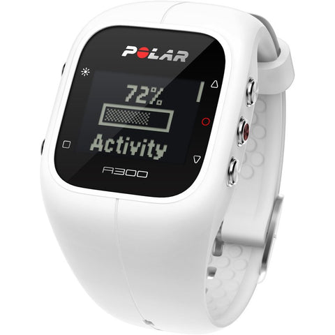 Polar A300 Fitness & Activity Tracker Watch | White