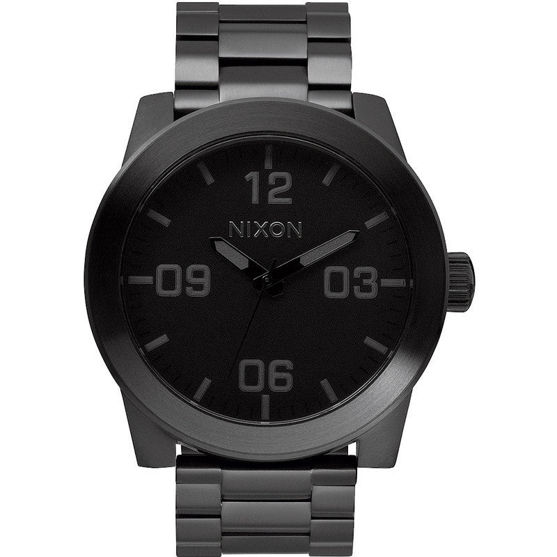 Nixon Corporal SS Men's Watch | All Black