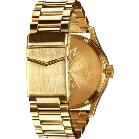 Nixon Sentry SS Men's Watch | Gold / Green