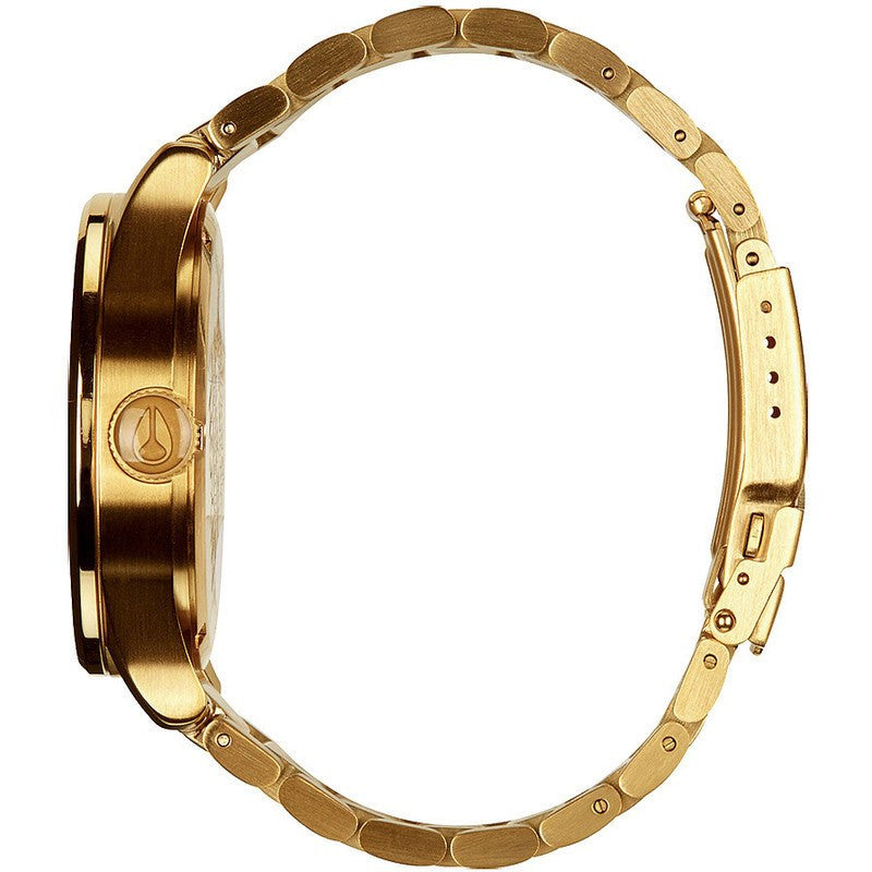 Nixon Sentry SS Men's Watch | All Gold
