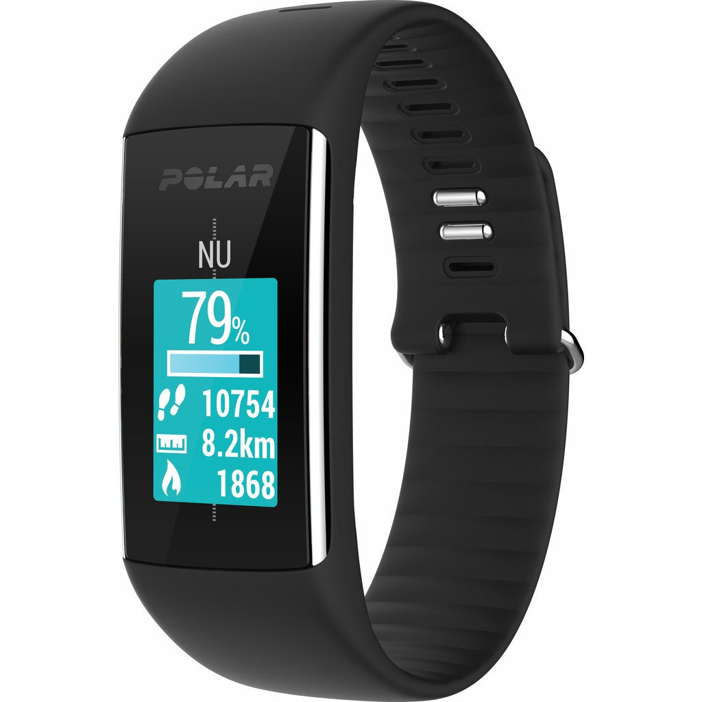 Polar A360 HR Fitness & Activity Tracker Watch | Black