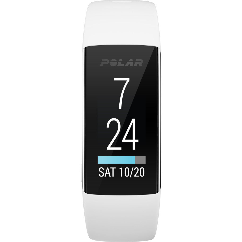 Polar A360 HR Fitness & Activity Tracker Watch | White S 90057430