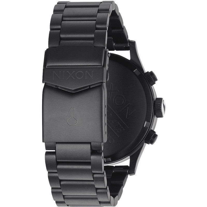 Nixon Sentry Chrono Men's Watch | Matte Black / Surplus
