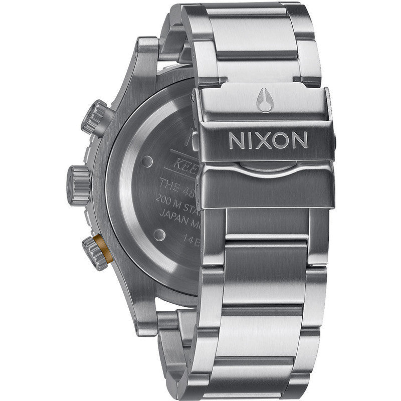 Nixon 48-20 Chrono Men's Watch | Dark Copper