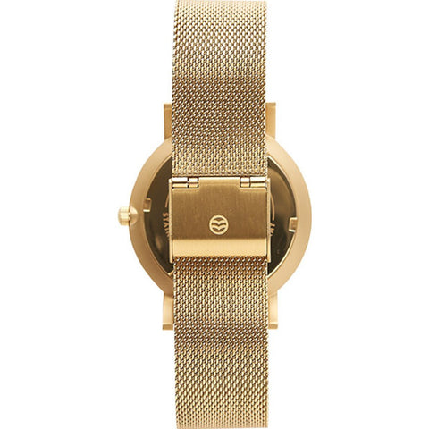 Shore Projects Abersoch Watch with Mesh Strap | Gold S020G