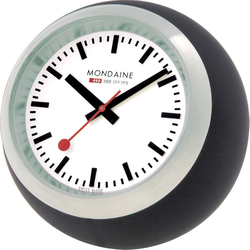 Mondaine Globe Desk Clock | Black A660.30335.16SBB