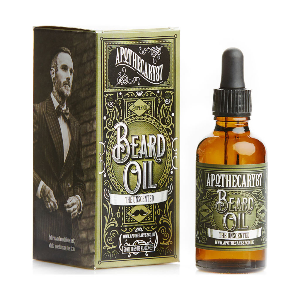 Apothecary 87 Beard Oil - The Unscented 50ml U-2