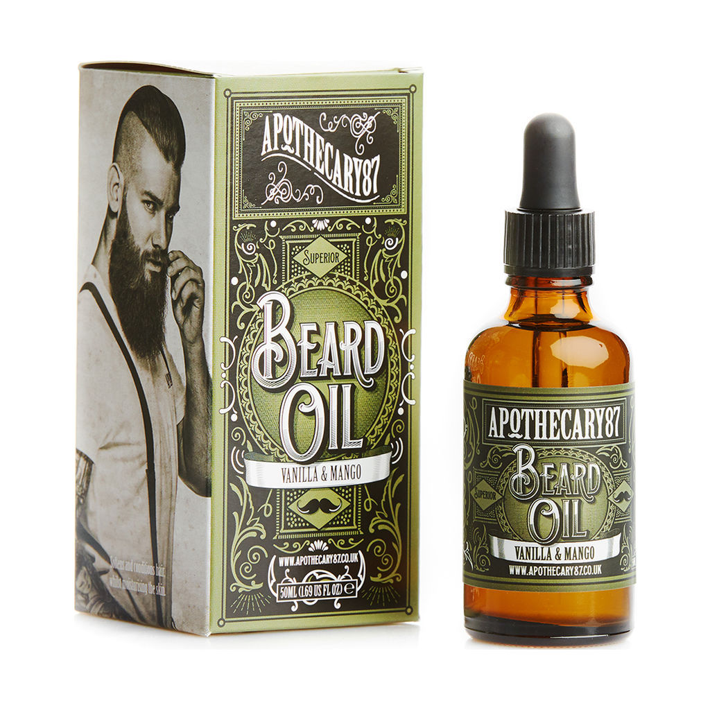 Apothecary 87 Beard Oil - A Vanilla & Mango Fragrance 50ml VM-2