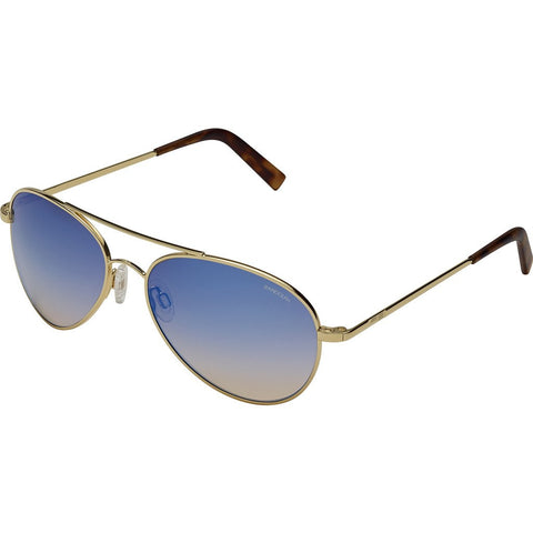 Randolph Engineering Coronado 23K Gold Sunglasses | Oasis Metallic Nylon AR Skull 57MM AA71406-2-NY