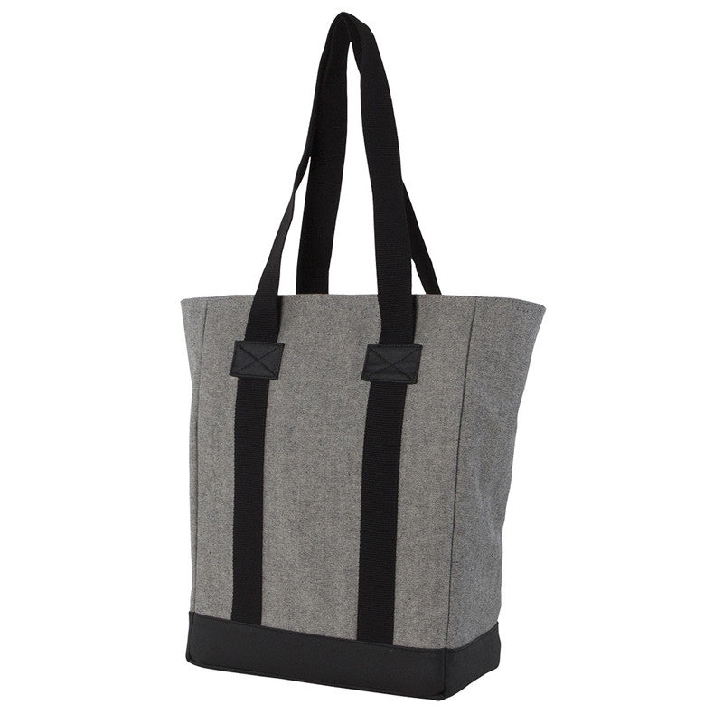 Hex Academy Laptop Tote Bag | Gray