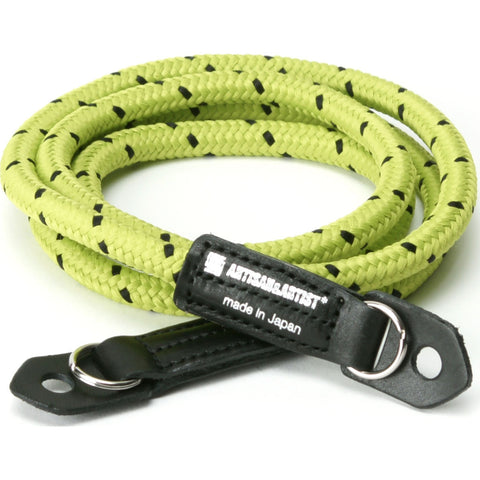 Artisan & Artist 701 Pin Dot Cord Camera Strap | Yellow/Black