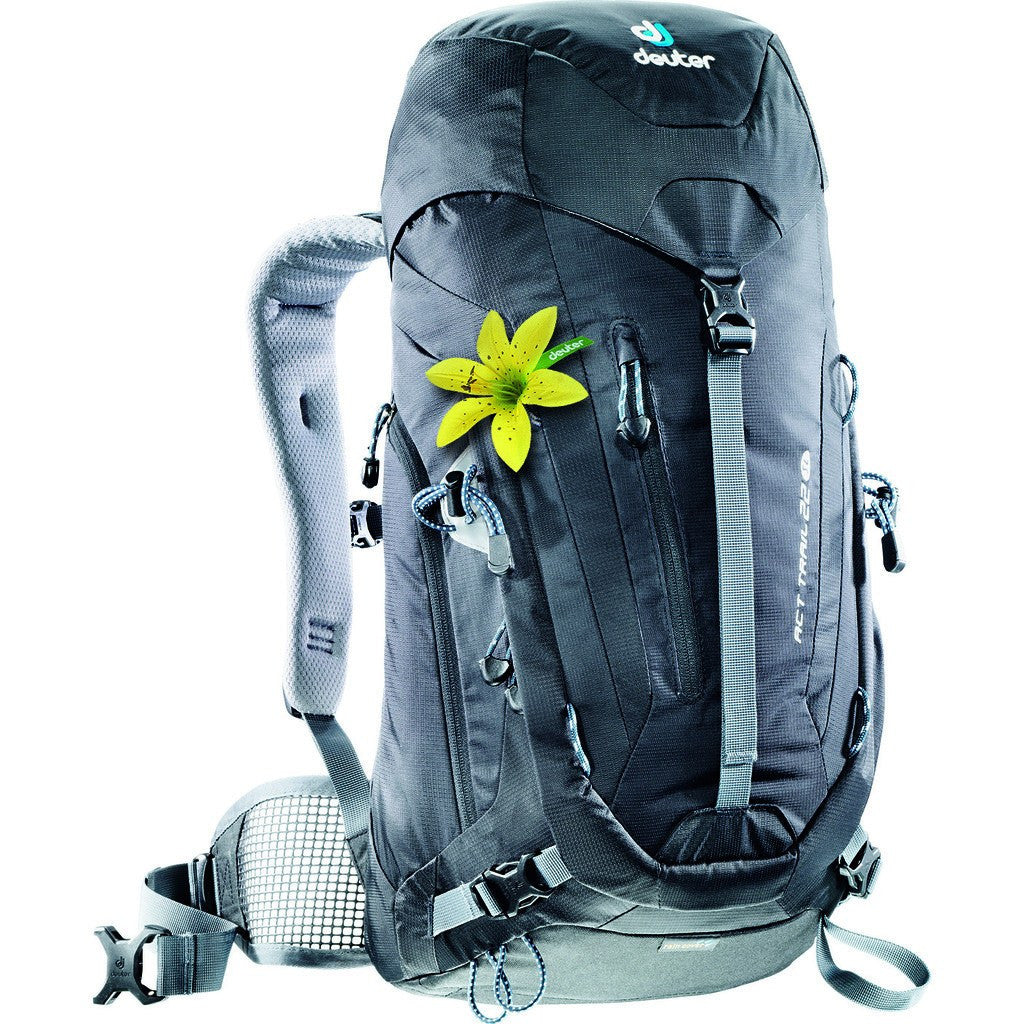 Deuter ACT Trail 22L SL Women's Hiking Backpack | Black 3440015 70000