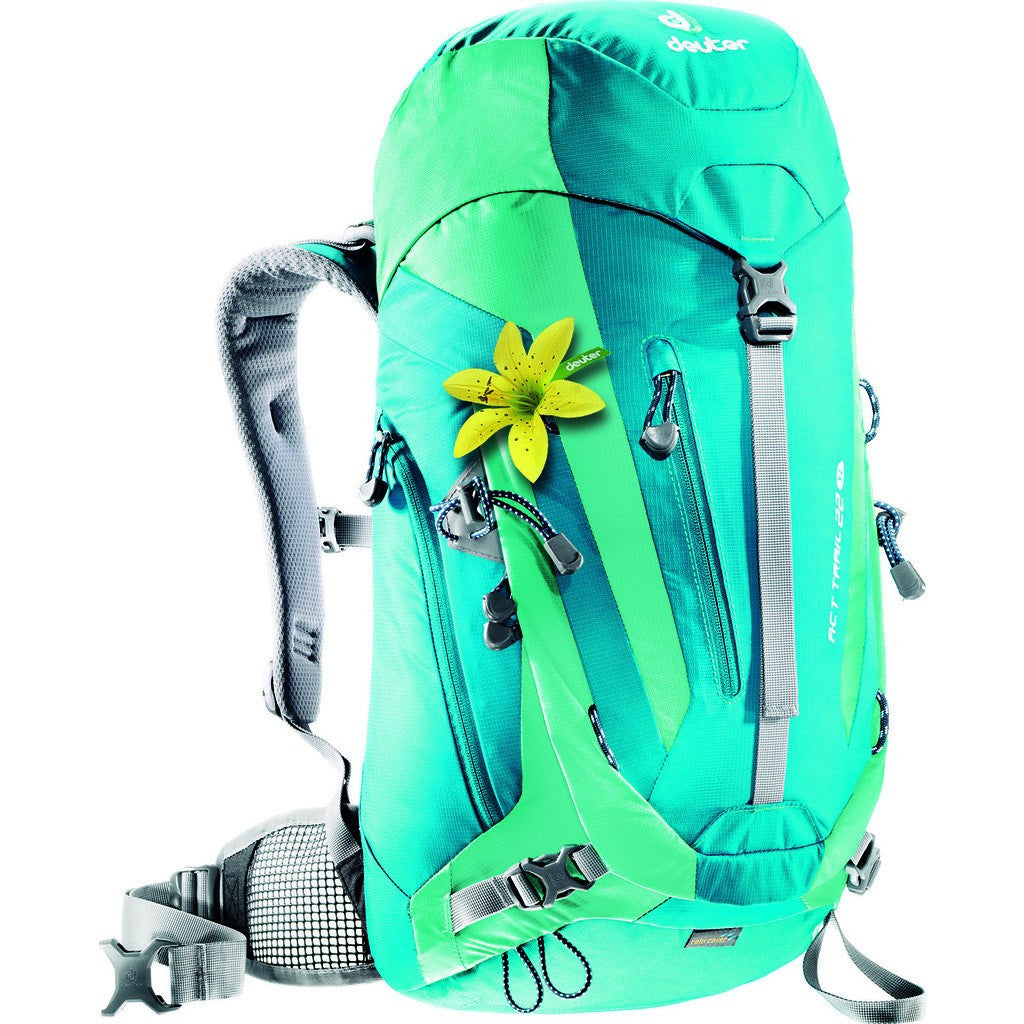 Deuter ACT Trail 22L SL Women's Hiking Backpack | Petrol/Mint 3440015 32170