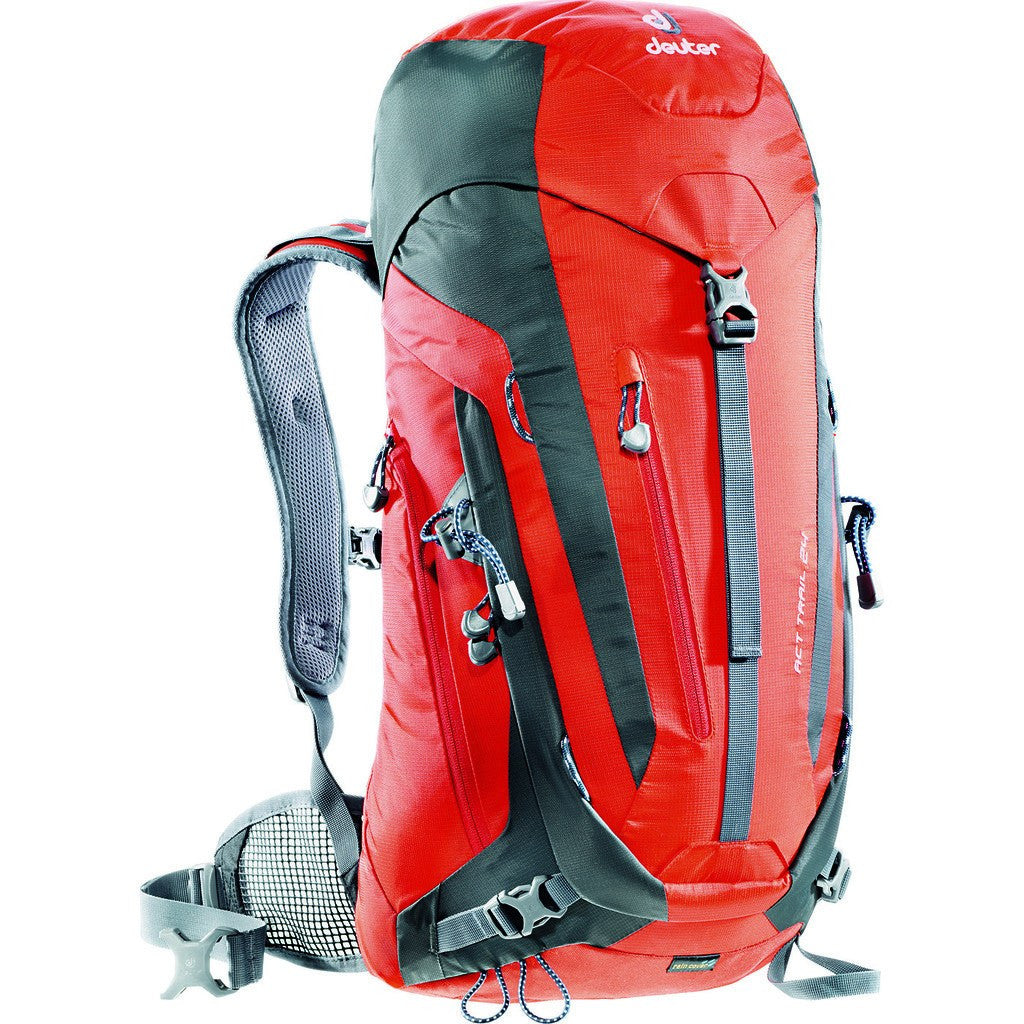 Deuter ACT Trail 24L Hiking Backpack | Papaya/Granite 3440115 94030