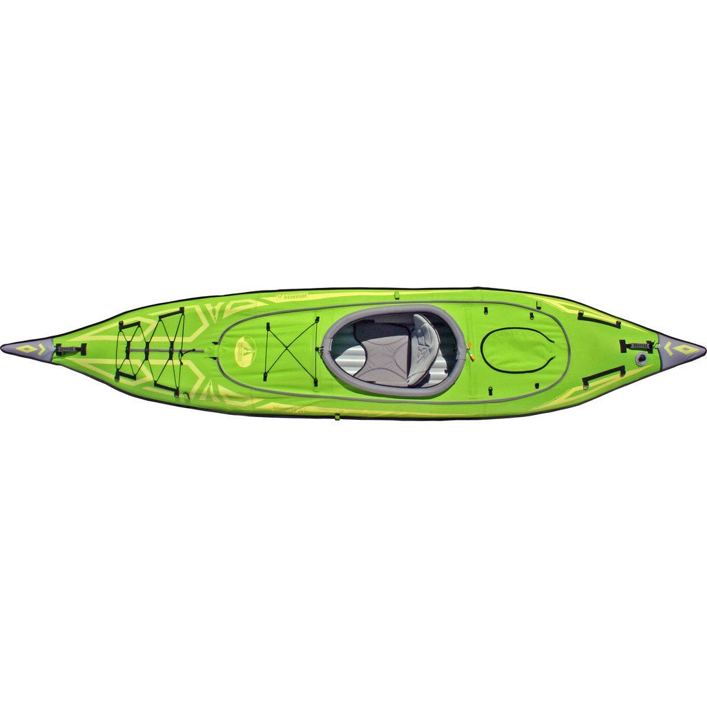 Advanced Elements AdvancedFrame Convertible Kayak Green | Lime Green AE1007-G