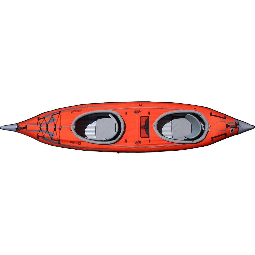 Advanced Elements AdvancedFrame Convertible Kayak | Red/Gray AE1007-R