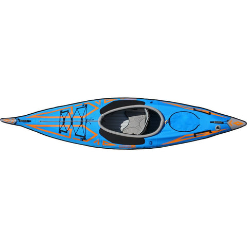 Advanced Elements AdvancedFrame Expedition Kayak  | Ocean Blue AE1009-B