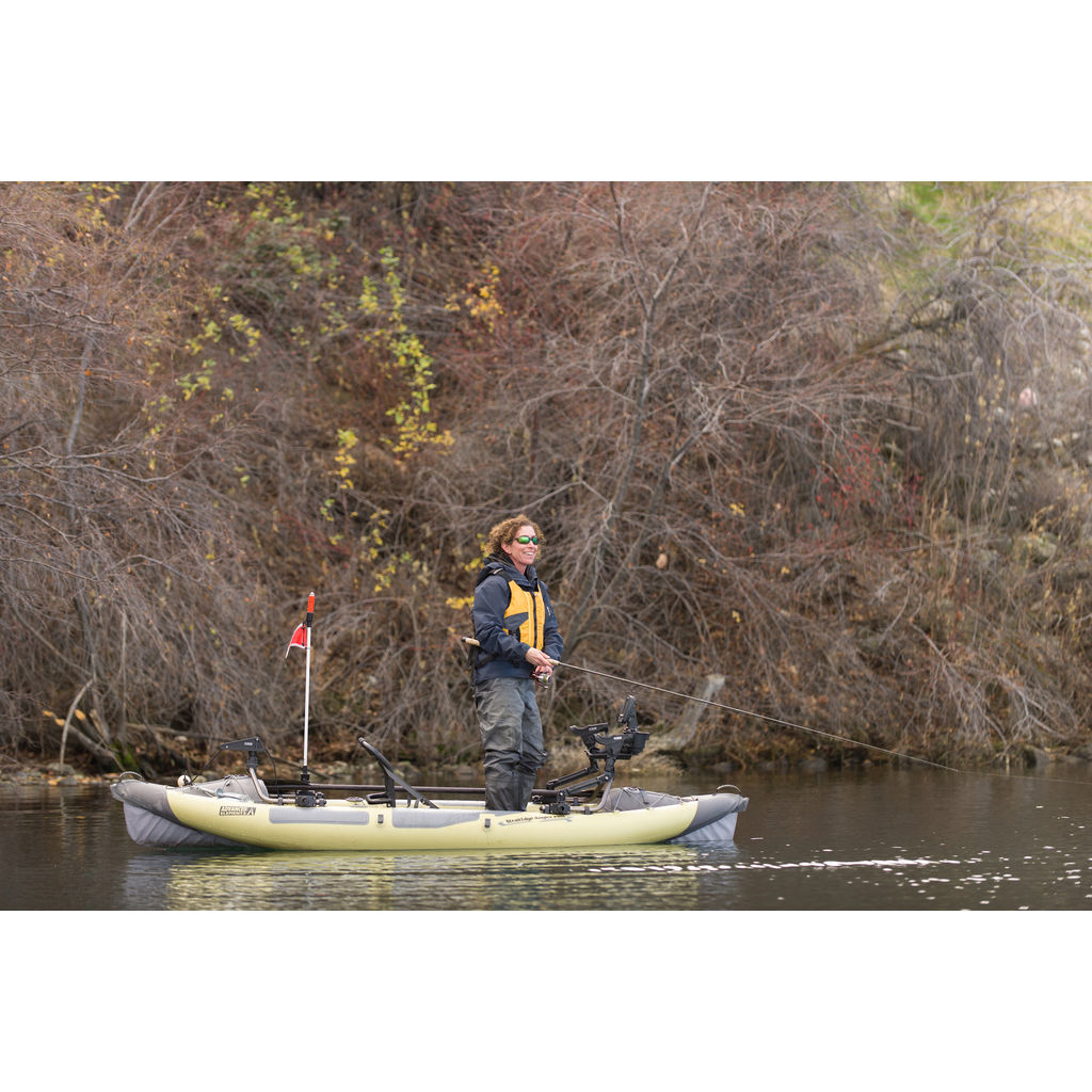 Advanced Elements StraitEdge Inflatable Angler Pro Kayak | Sage/Gray AE1055