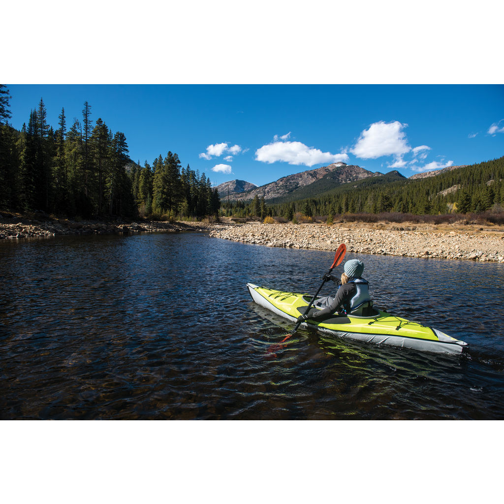 Advanced Elements AdvancedFrame Inflatable Ultralite Kayak | Lime/Gray AE3022-G