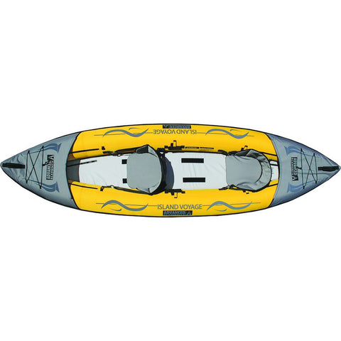 Advanced Elements Island Voyage2 Kayak | Yellow/Gray