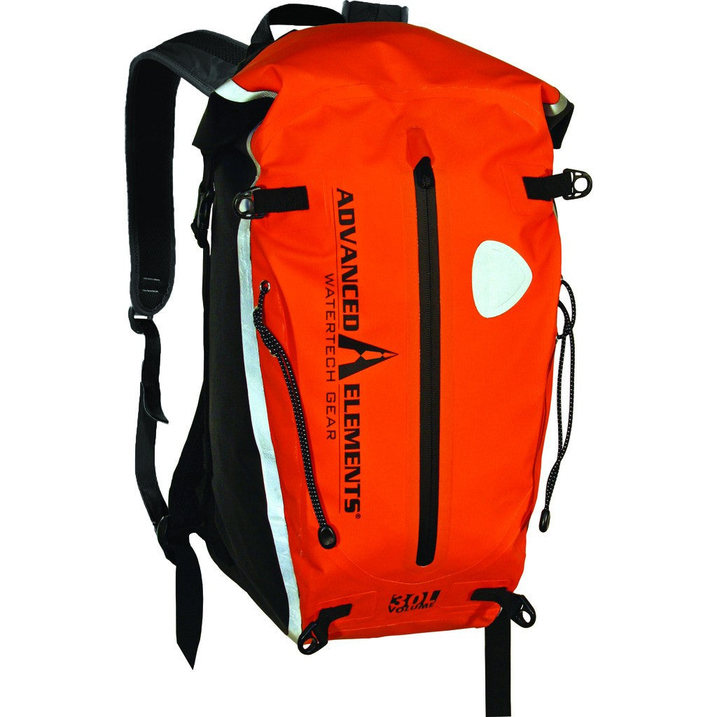 Advanced Elements Deep Six Deck Pack | Orange/Black AE3503