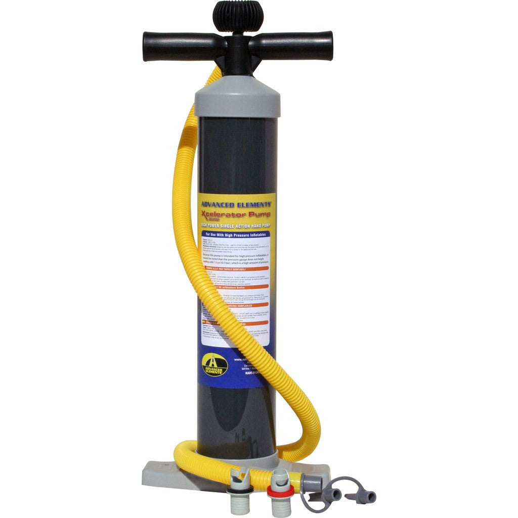 Advanced Elements Xcelerator Hand Pump w/ Gauge | Black AE5006