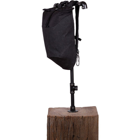 Alchemy Equipment 20L Roll Top Daypack | Black Slub Weave