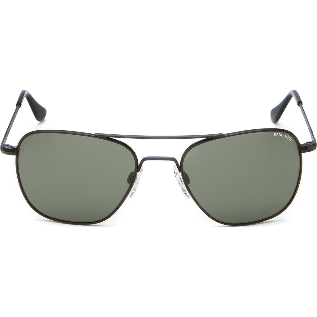 cca055cddc Randolph Engineering Aviator Matte Black Sunglasses