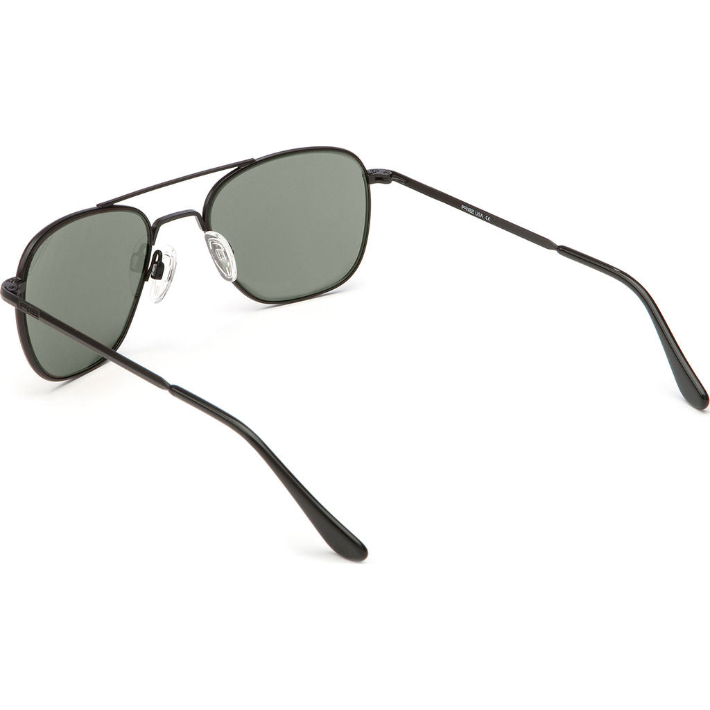 Randolph Engineering Aviator Matte Black Sunglasses | AGX Skull AR
