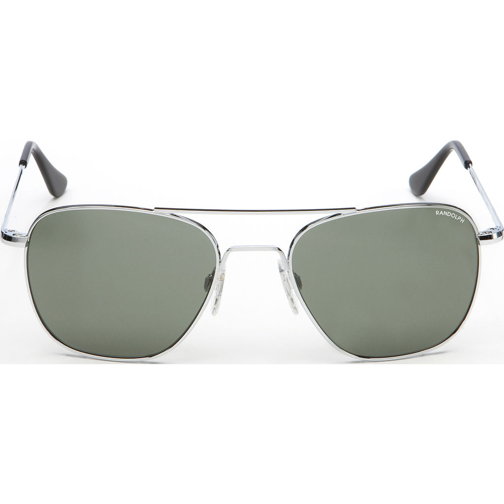 Randolph Engineering Aviator Bright Chrome | AGX Polarized Skull- Af024