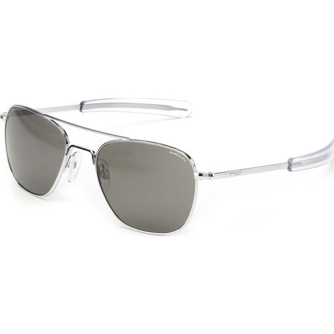 Randolph Engineering Aviator Bright Chrome | Gray Polarized Bayonet- Af028