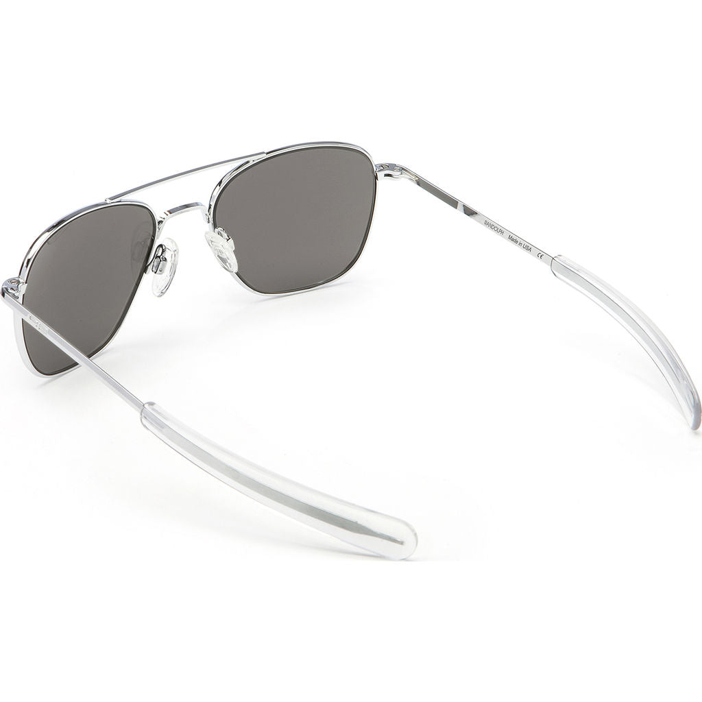 8c785b25355 Randolph Engineering Aviator Bright Chrome Sunglasses