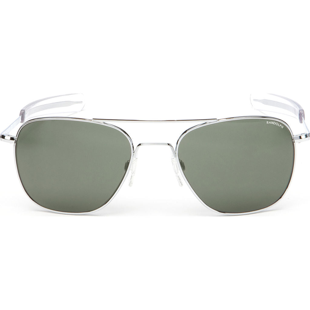 Randolph Engineering Aviator Bright Chrome | AGX Polarized Bayonet- Af029